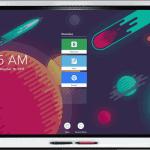 SMART board 6000 interaktīvais ekrāns