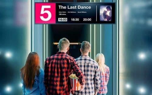 NEC BT421 reklāmas displejs kino