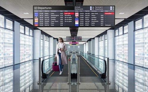 NEC BT421 reklāmas displejs gaitenī norādes informācija