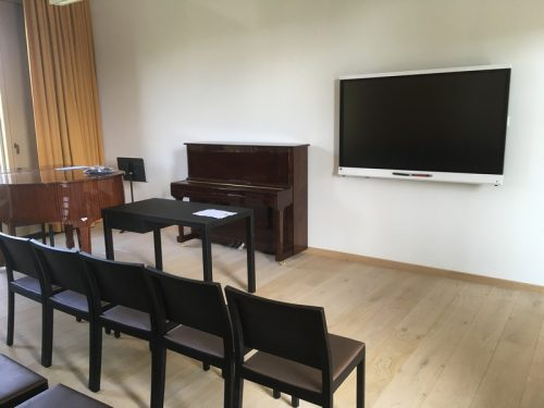 Interaktīvie ekrāni Ventspils Mūzikas vidusskolā