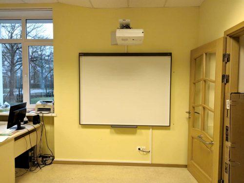 Interaktīvā tāfele SMART Board SB480 ar NEC UM301X
