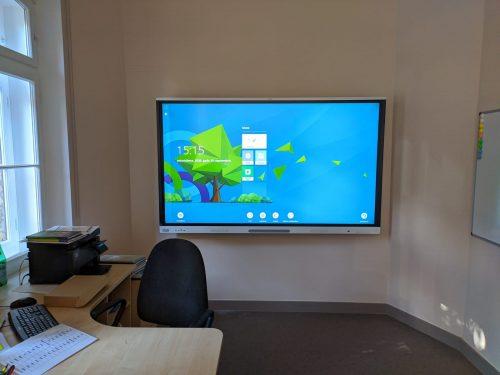 SMART interaktīvais ekrāns Zālīša sākumskola