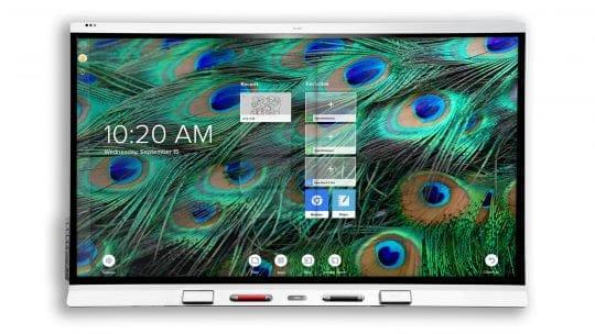 SMART Board 6000S interaktīvais ekrāns izglītībai