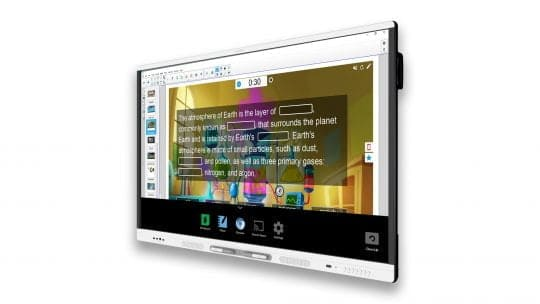 SMART interaktīvais ekrāns